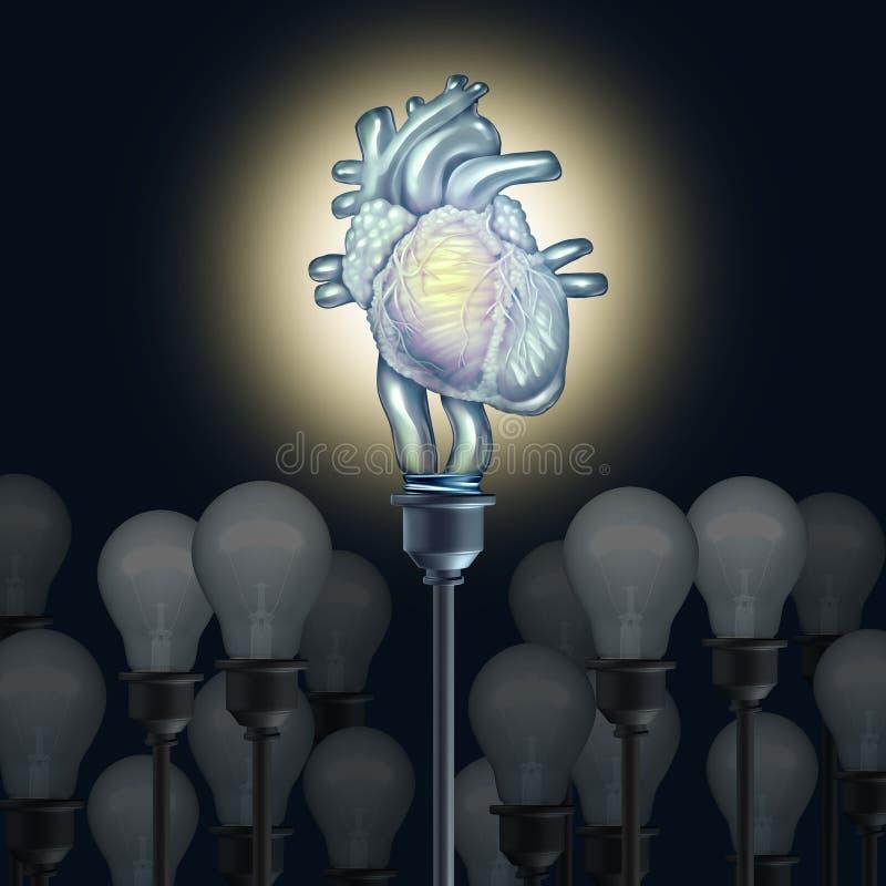 Ideia cardíaca da pesquisa ilustração do vetor