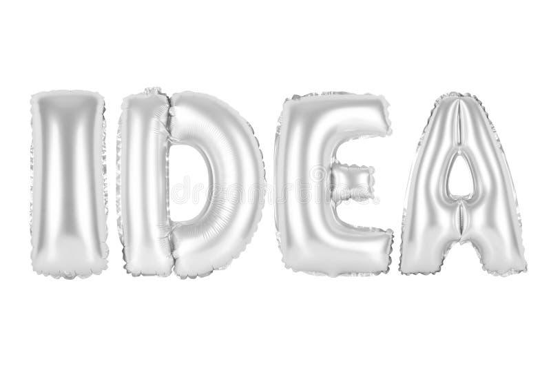 Ideia, cor do cinza do cromo foto de stock
