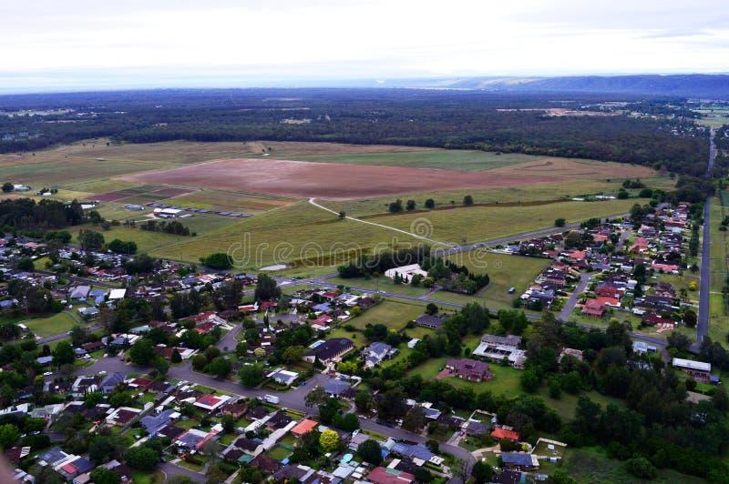 Ideia da paisagem do distrito de Hawkesbury fotos de stock royalty free