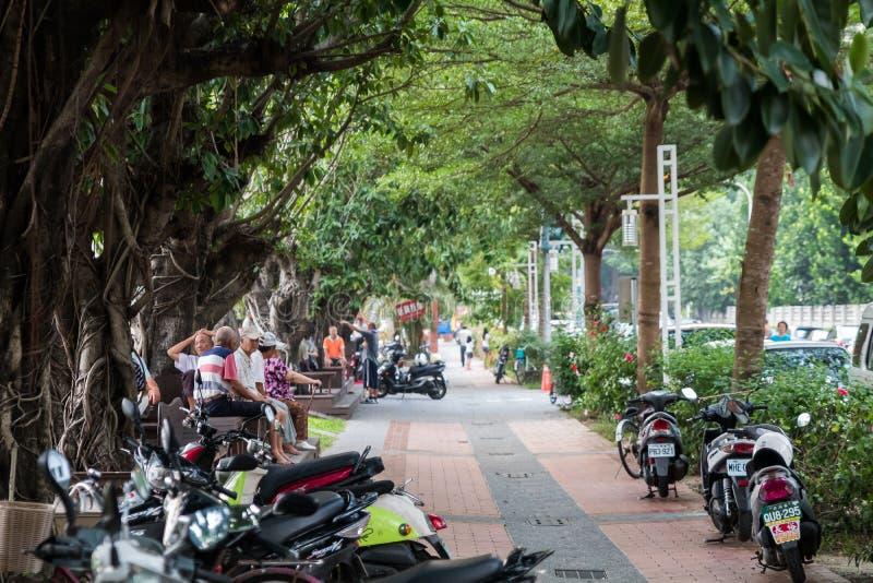 Ideia da rua de vida em Taiwan imagens de stock royalty free
