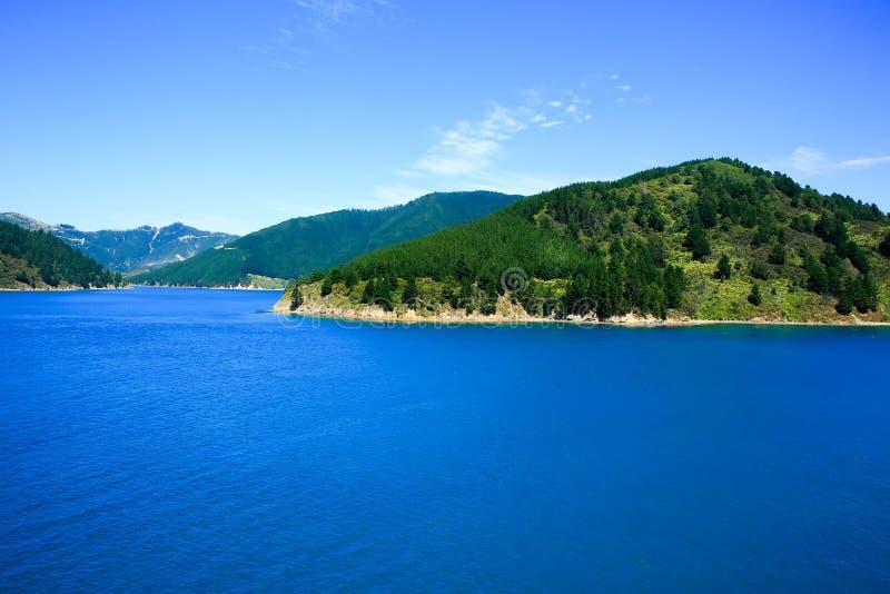 Ideia de sons de Marlborough, Picton, Nova Zelândia imagens de stock royalty free