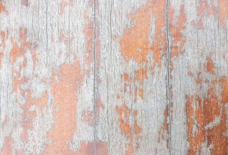 Ideia de tampo da mesa da textura de madeira sobre vagabundos naturais da cor da luz branca foto de stock royalty free