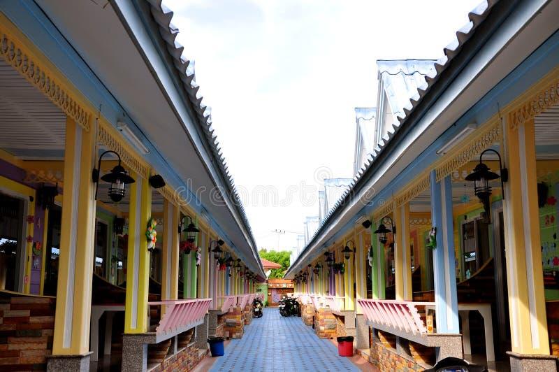 Ideia de um recurso em Tailândia fotos de stock