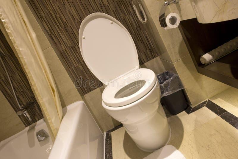 Ideia de um toalete foto de stock