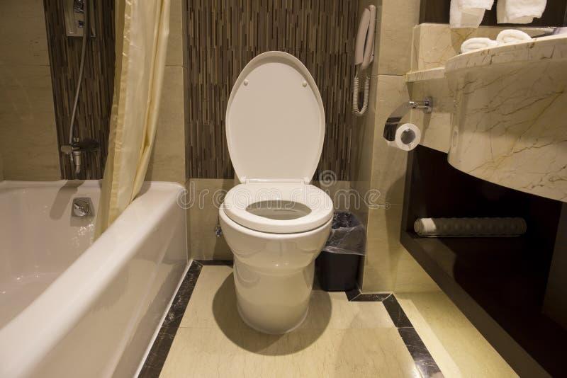 Ideia de um toalete imagens de stock