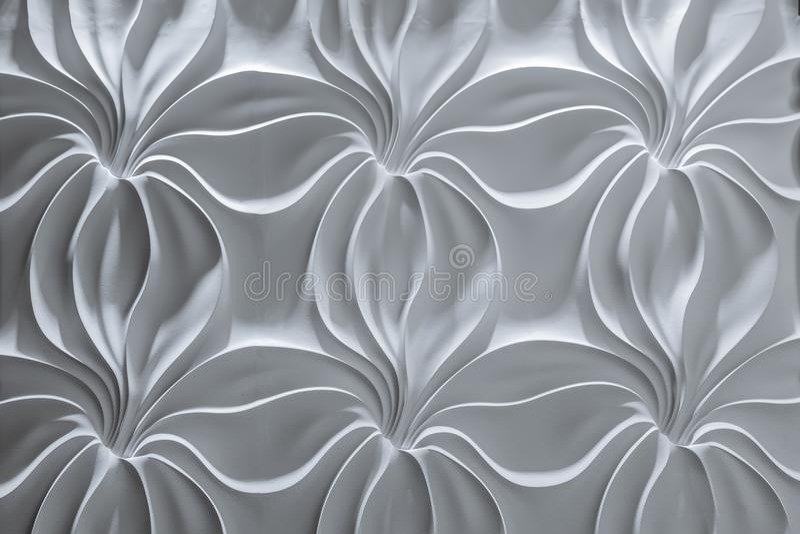 Ideia detalhada bonita de fascinação do close up do fundo decorativo interior da parede     parede imagens de stock