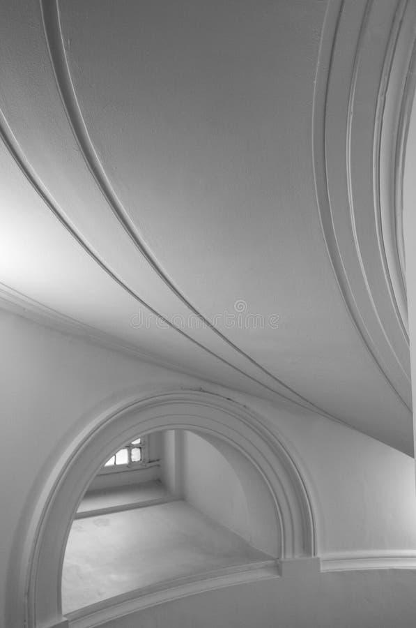 Ideia detalhada da arquitetura interior na galeria de arte de Tate Britain em Millbank em Londres Reino Unido imagens de stock royalty free