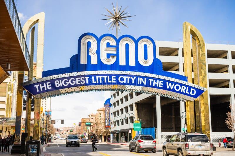 Ideia do arco de Reno e da área central imagens de stock