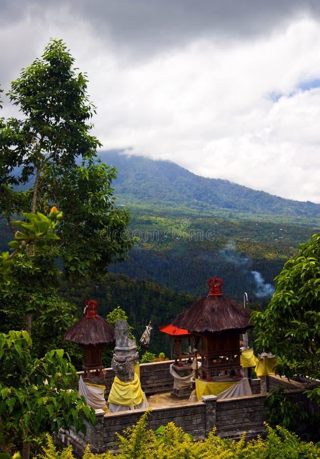 Ideia do centro de Bali imagem de stock