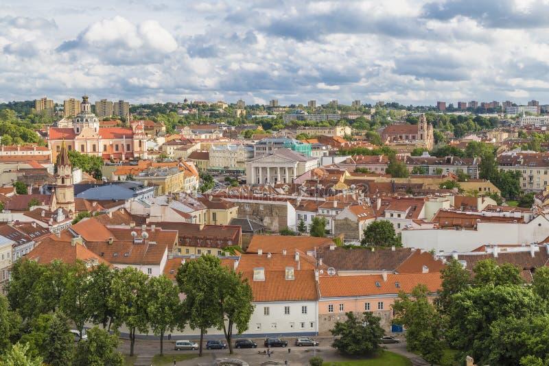 Download Ideia Do Centro Histórico De Vilnius Imagem de Stock - Imagem de monte, oriental: 80100061
