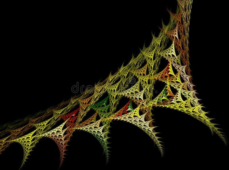 Ideia do fractal moderno foto de stock