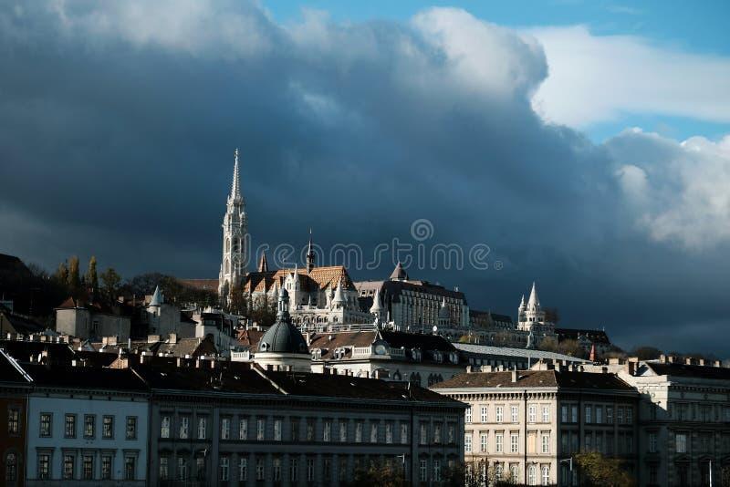 Ideia do lado de Buda de Budapest fotografia de stock royalty free