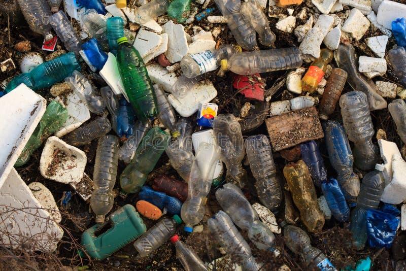 Ideia do lixo doméstico imagem de stock royalty free