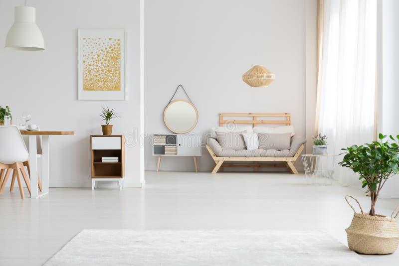 Ideia do projeto do apartamento fotos de stock royalty free