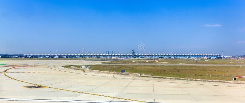 Ideia do terminal novo do Madri fotos de stock royalty free