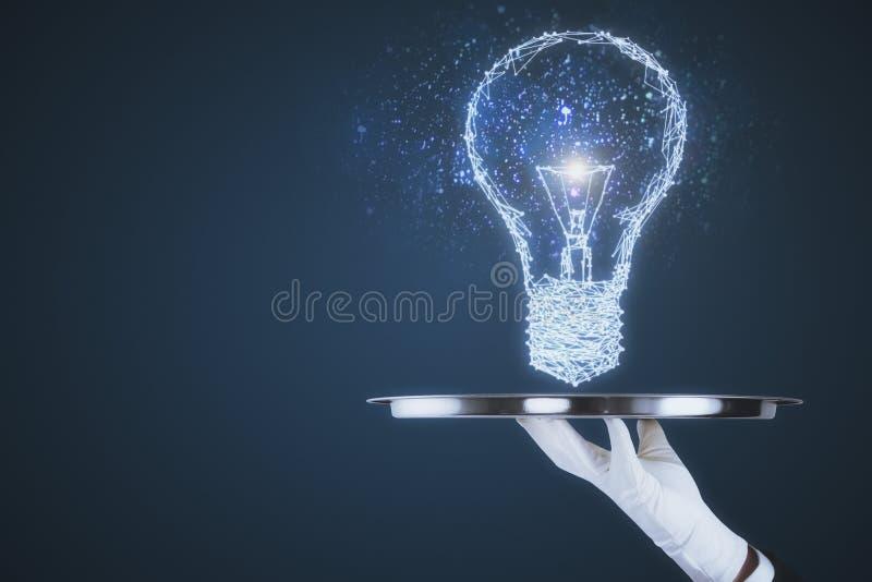 Ideia e conceito da inovação imagem de stock royalty free