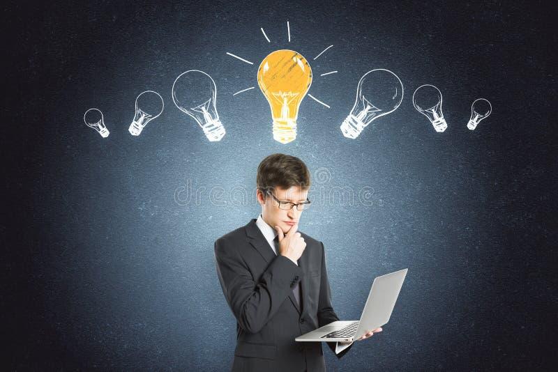 Ideia e conceito da tecnologia foto de stock