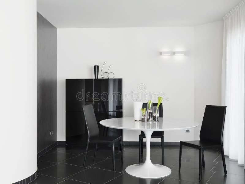 Ideia interior de uma sala de jantar imagem de stock royalty free
