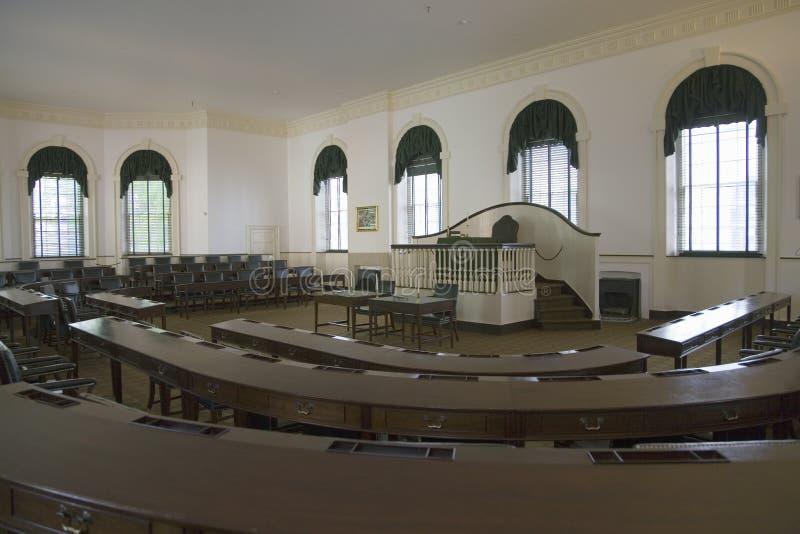 Ideia interior do congresso Salão, fotos de stock