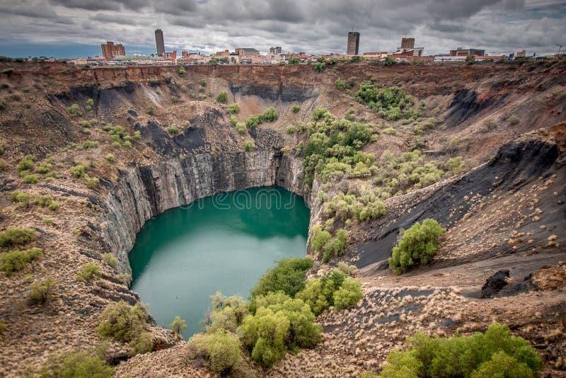 Ideia larga do furo grande em Kimberley imagem de stock