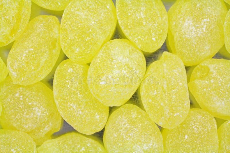 Ideia próxima de gotas de limão foto de stock