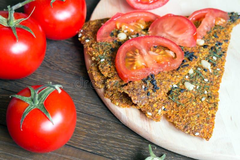 Ideia saudável do petisco do vegetariano fotos de stock