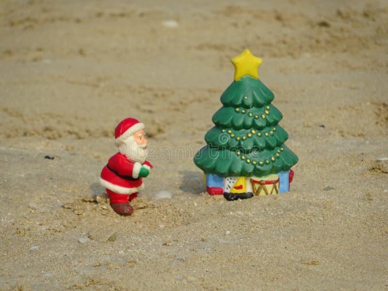 Ideias criativas do cartão do Natal para crianças fotografia de stock royalty free