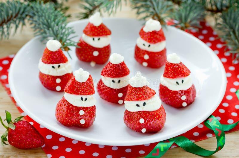 Download Ideias Da Festa De Natal Para Crianças - Morango Santa, Morango Miliampère Foto de Stock - Imagem de arte, brunch: 80100336
