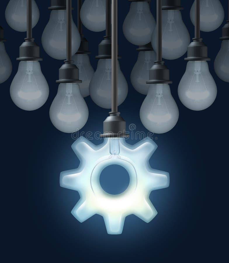 Ideias da inovação ilustração stock