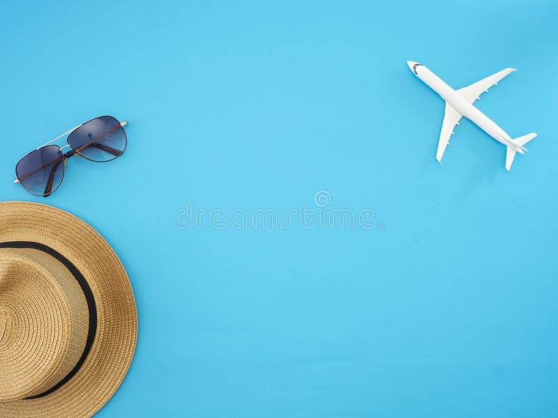 Ideias do curso do verão e objetos da praia imagem de stock royalty free