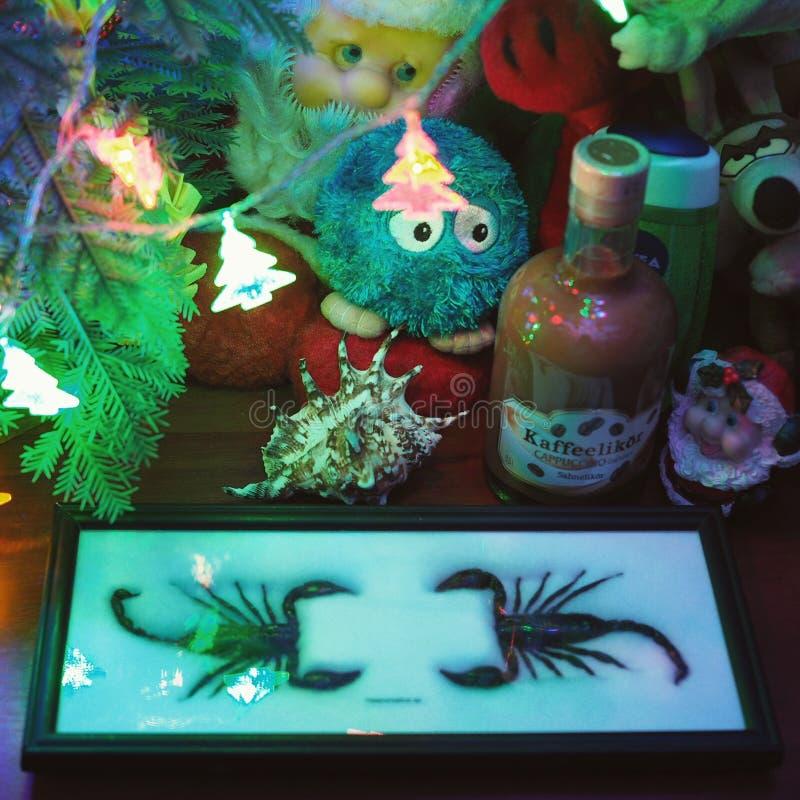 Ideias dos presentes do Natal imagem de stock