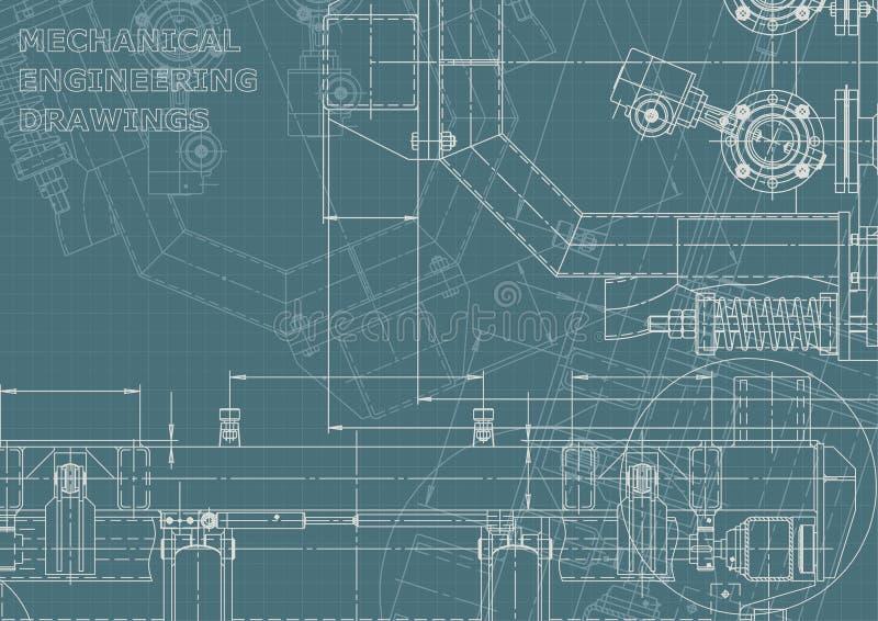 Identidad corporativa, plan, bosquejo Ejemplos t?cnicos, fondos ilustración del vector