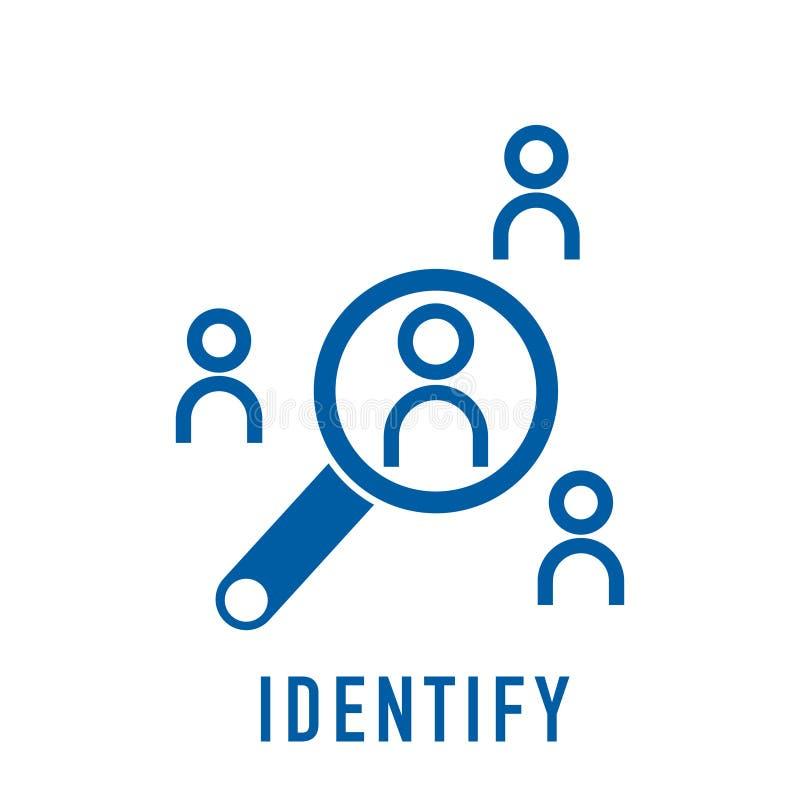 Identify Icon,vector Best Flat Icon Stock Vector