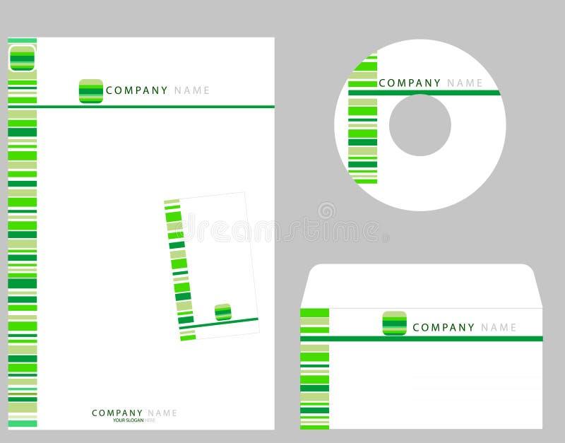 Identité de corporation illustration libre de droits