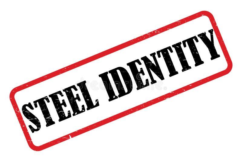 Identité en acier illustration libre de droits