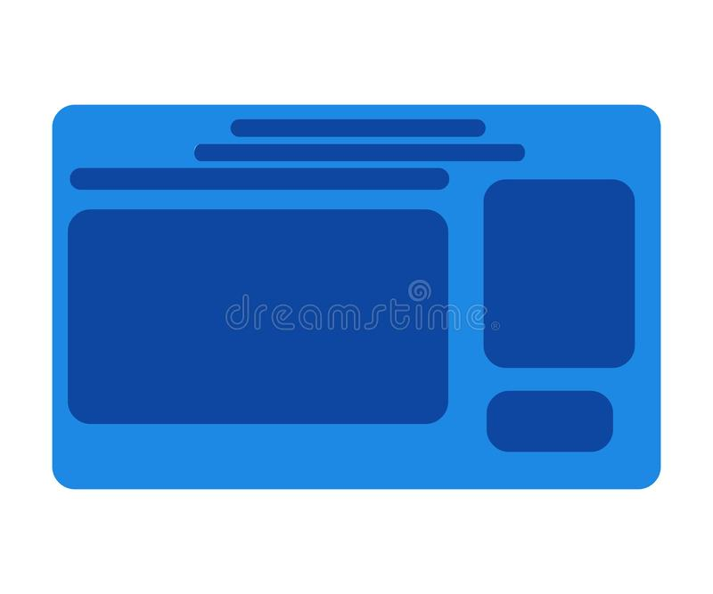 identity card icon stock photo