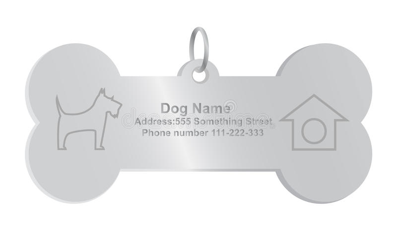 Identity Tags For Dog Stock Photos