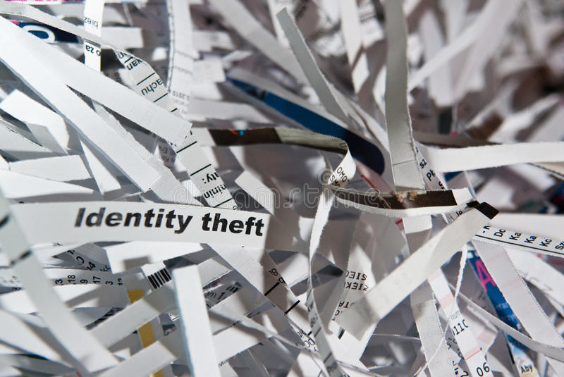 Download Identity theft stock image. Image of documents, basket - 12577607