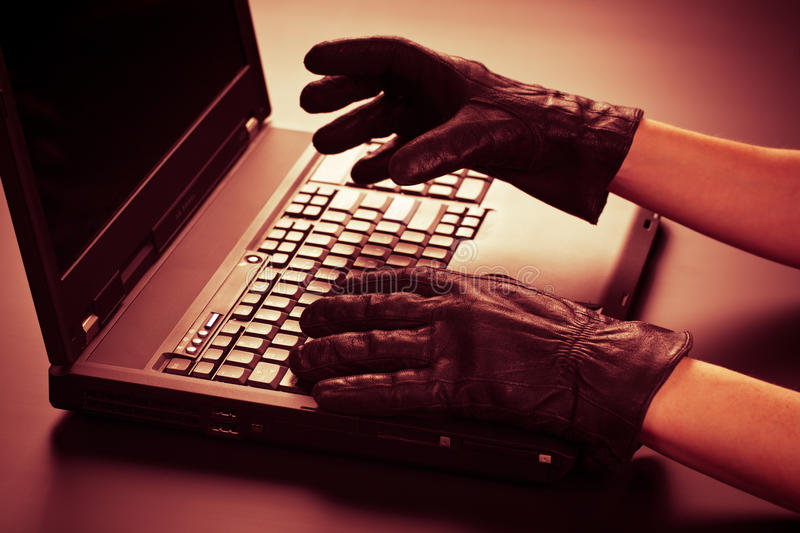 Download Identity Theft stock image. Image of safety, hacking - 17568057