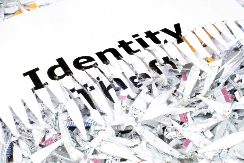 Identity Theft stock image