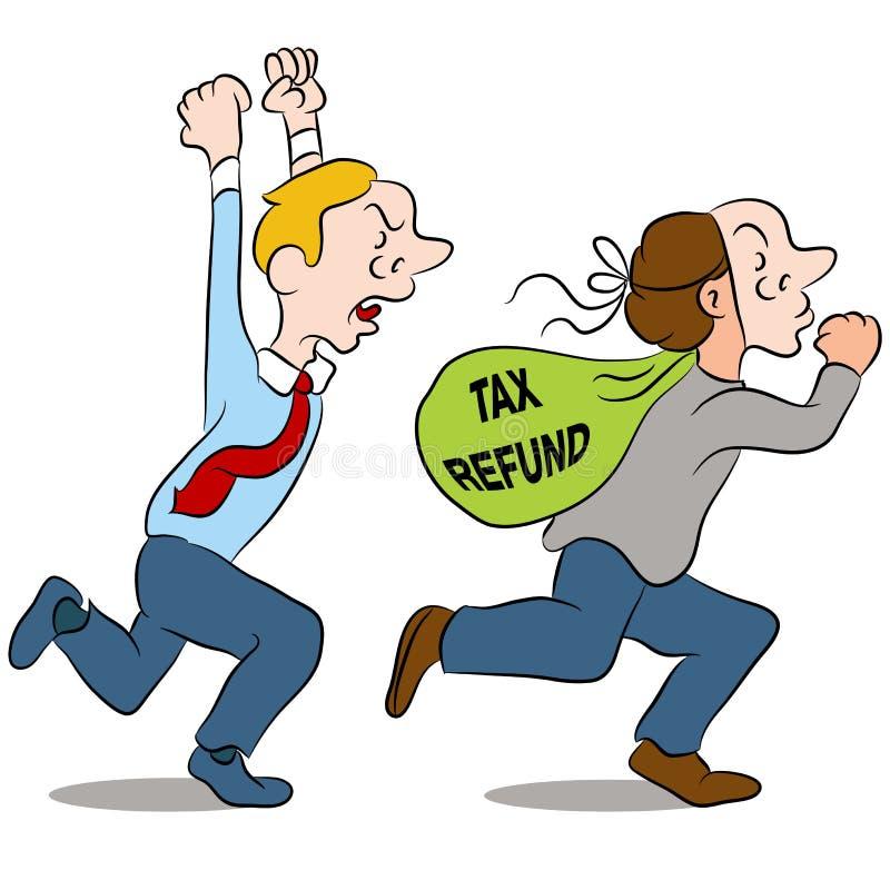 Identity Theft vector illustration