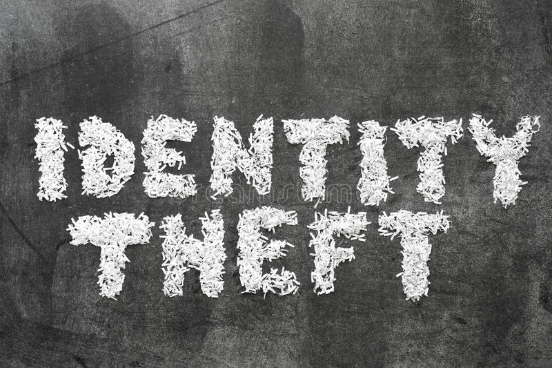 Identity theft royalty free stock photo