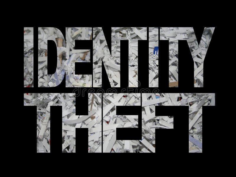 Download Identity Theft With Shredded Paper Stock Illustration - Image: 4351377