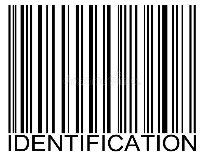 identyfikacja barcode royalty ilustracja