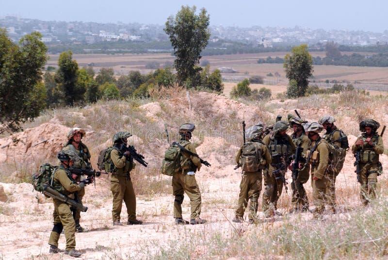 IDF - Israel infanterikår royaltyfri bild