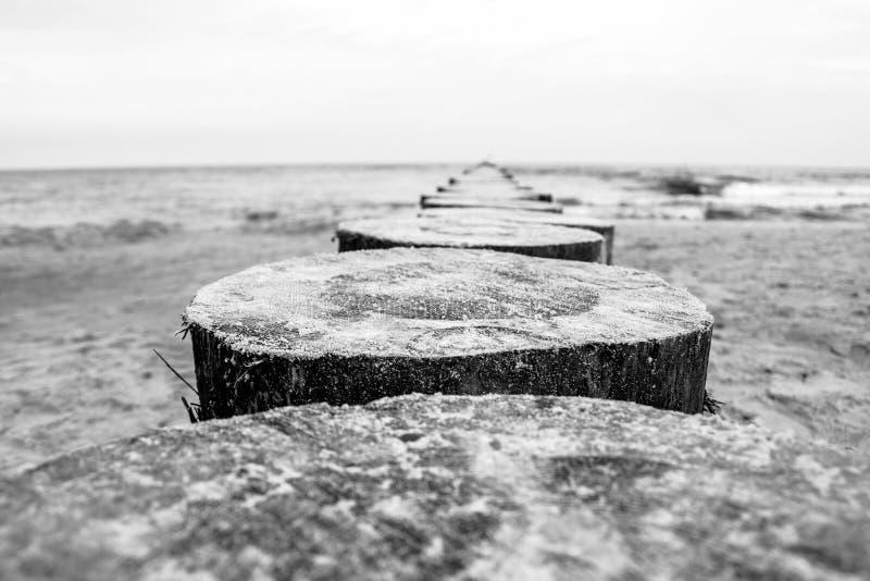 Idillio del Mar Baltico fotografia stock libera da diritti