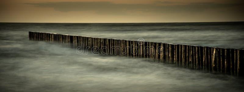 Idillio del Mar Baltico fotografia stock