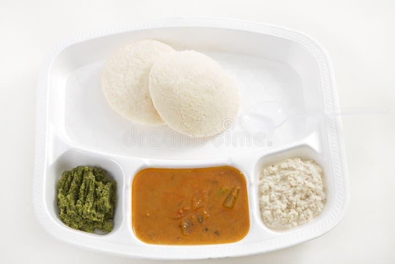 idli bezczynnie sambar zdjęcie stock