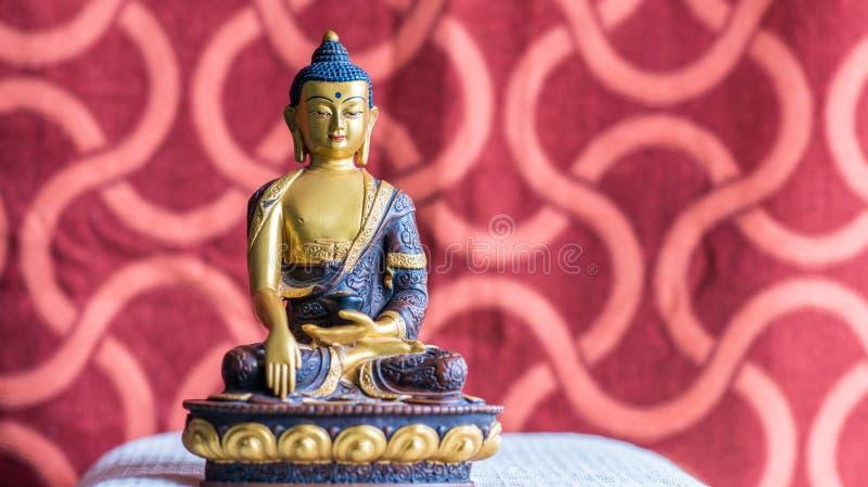 Idol of Buddha, from Bhutan royalty free stock photos