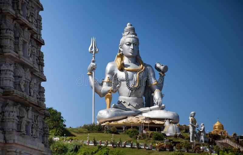 Idol des Lords Shiva stockbilder
